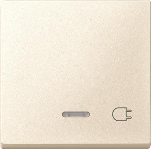 """Merten 431744 Kontroll-Wippe mit Symbol """"Steckdose""""Weiß"""