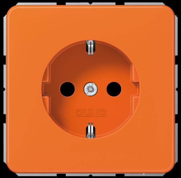 JUNG CD1520BFO Steckdose n-Einsatz Orange