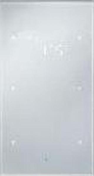 Berker 75642134 Glas-Sensor 2Fach mit Temperaturregler TS Sensor konfiguriert, Alu