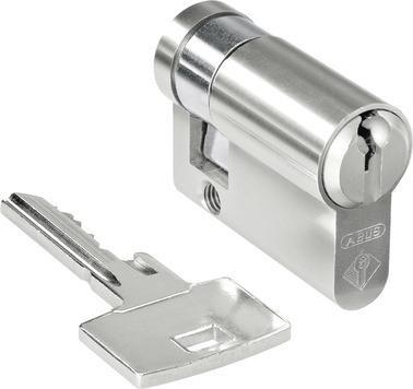 Merten MEG3985-0003 Profilhalbzylinder mit Schlüsselabzug in 3 Positionen