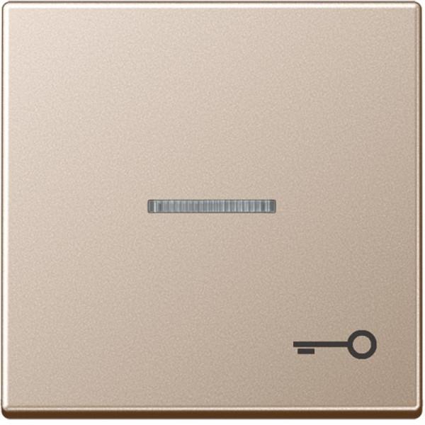 "JUNG A590KO5TCH Kontroll-Wippe mit Symbol ""Tür"" Champagner"