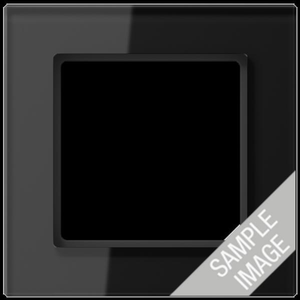JUNG AC585GLSW Glasrahmen 5-Fach Schwarz