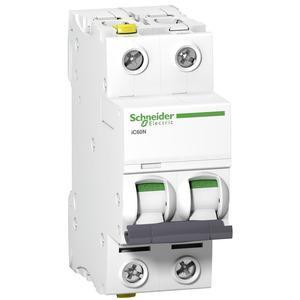 Schneider A9F03202 Leitungsschutzschalter B 2A-6kA-iC60N-2Polig