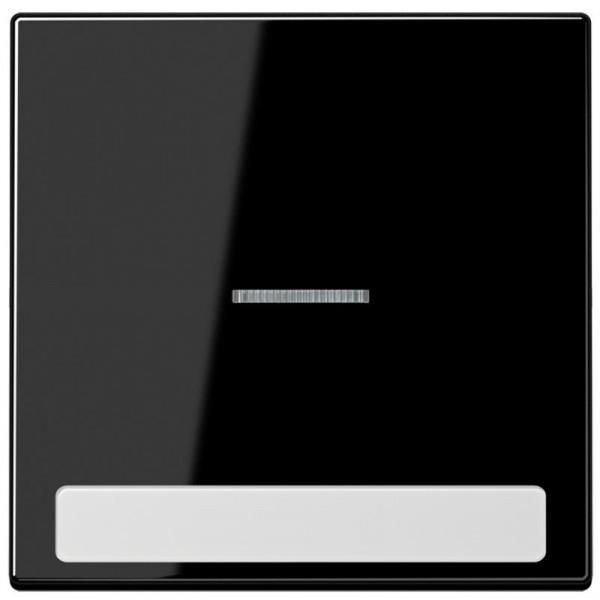 JUNG LS990NAKO5SW Kontroll-Wippe mit Schriftfeld Schwarz