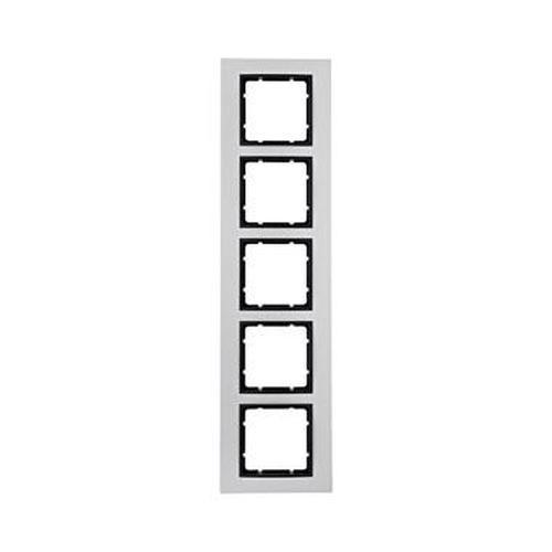 Berker 10156904 Rahmen 5Fach B.7 Alu/Anthrazit