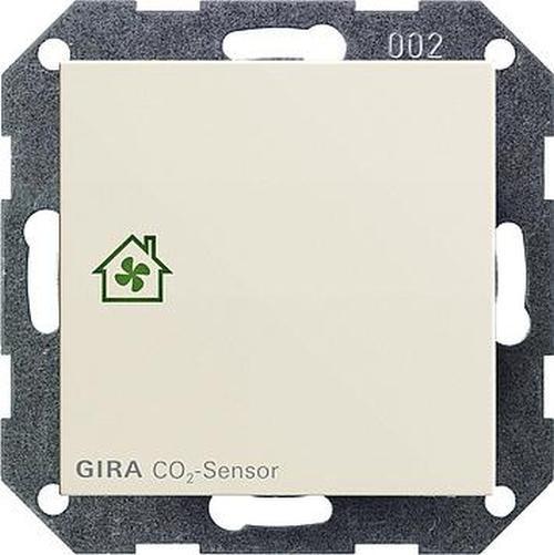 GIRA 238101 Raumluftsensor Cremeweiß-Glänzend