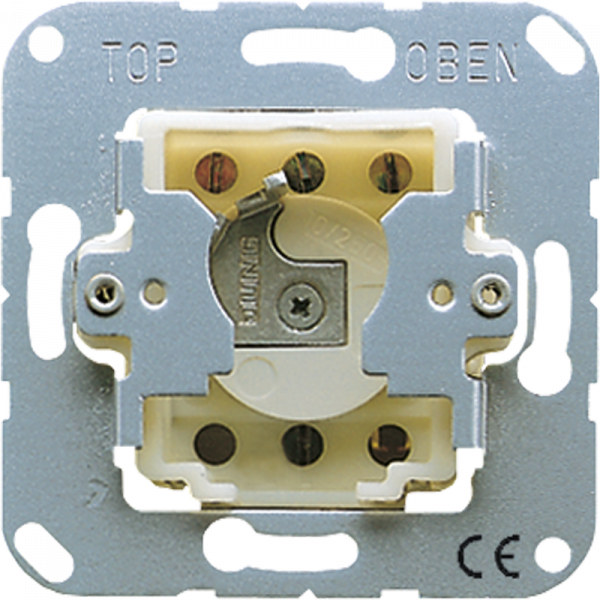JUNG CD134.18WU Schlüsseltaster mit Demontageschutz