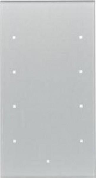 Berker 169407 Glas-Sensor 4Fach TS Sensor Glas, Alu