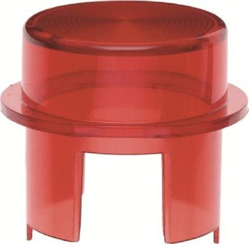 Berker 1281 Haube für Drucktaster und Lichtsignal E10 Zubehör Rot Transparent