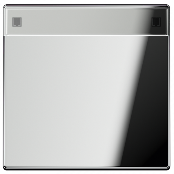 JUNG GCR2990NA Wippe mit Schriftfeld Glanz-Chrom