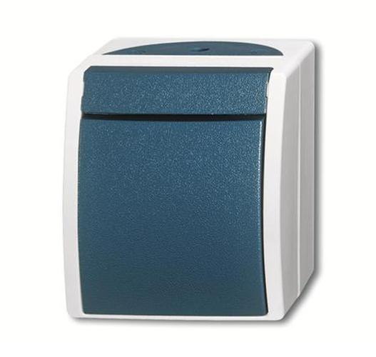 busch jaeger wechselschalter 2 polig steckdosen24. Black Bedroom Furniture Sets. Home Design Ideas