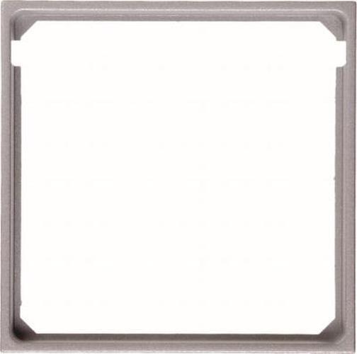 Berker 11091404 Zwischenring für Zentralplatte Alu Mat