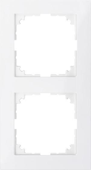 Merten MEG4020-3619 Rahmen 2-Fach M-Pure Polarweiß
