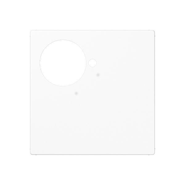 JUNG A525.201WW Abdeckung für Zettler VarioLine, Serie 125.xxx Alpinweiß