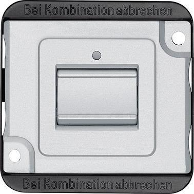 Merten MEG3106-7060 Kontrollschalter Mattsilber