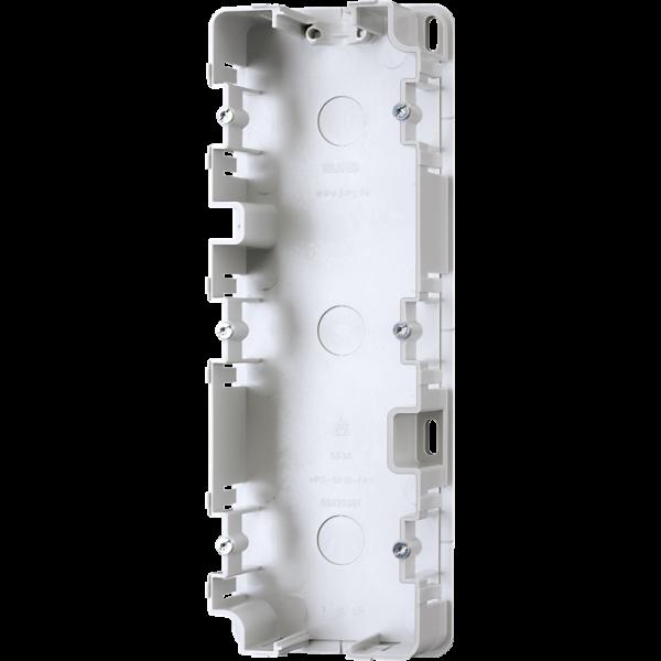 JUNG 583A Montagegehäuse 3-Fach für Aufputz-Kappen
