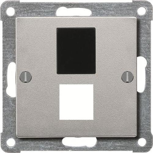 Merten 295760 Zentralplatte Kat.3 AMP Aluminium