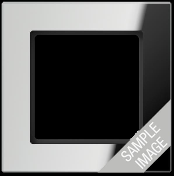 JUNG AC585GLSI Glasrahmen 5-Fach Silber
