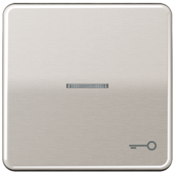 "JUNG CD590KO5TPT Kontroll-Wippe mit Symbol ""Schlüssel"" Platin"
