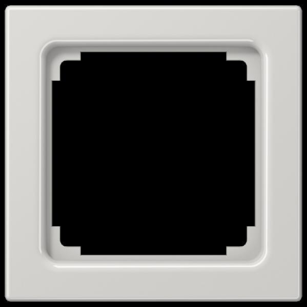 JUNG LS961ZLG Zwischenrahmen für Geräte 50 x 50 mm Lichtgrau