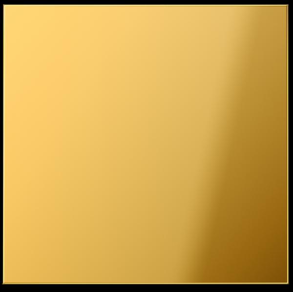 JUNG GO2990 Schalter/Taster Wippe Goldfarben