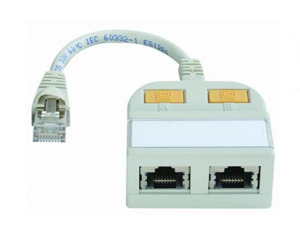 Telegärtner J00029A0013 T-Adapter Geschirmt