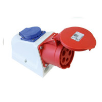 PCE 9215-6 CEE COMBO Dose 16A 5-Polig 6h IP44