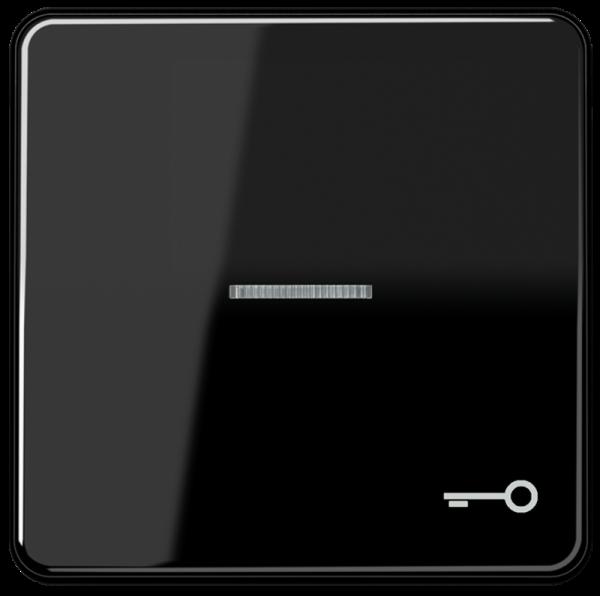 """JUNG CD590KO5TSW Kontroll-Wippe mit Symbol """"Schlüssel"""" Schwarz"""