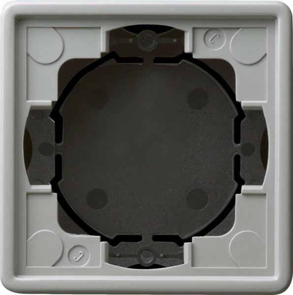 GIRA 021942 Aufputz-Gehäuse Flach 1-Fach Grau