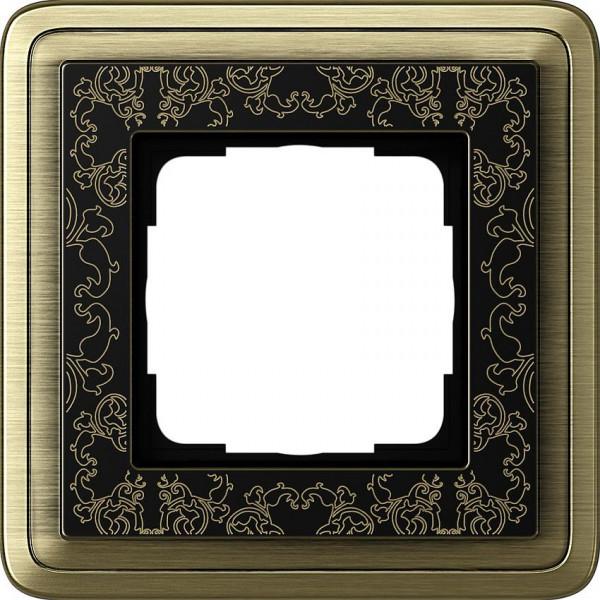 GIRA 0211662 Rahmen 1-Fach ClassicX Art Bronze-Schwarz