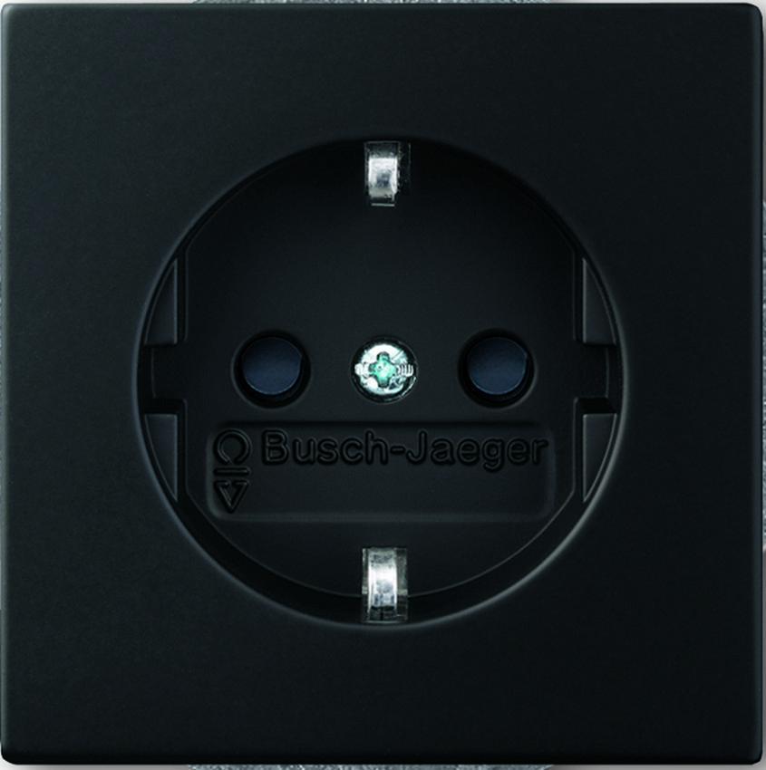 busch jaeger steckdose einsatz steckdosen24. Black Bedroom Furniture Sets. Home Design Ideas
