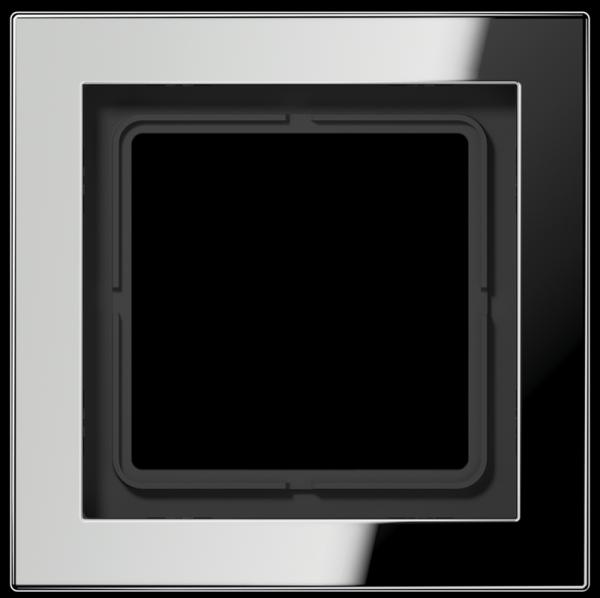 JUNG GCRD2981 Rahmen 1-Fach LS-Serie Glanz-Chrom