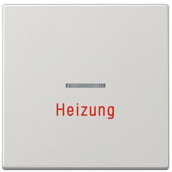 """JUNG LS990HLG Kontroll-Wippe mit Aufschrift """"Heizung"""" Lichtgrau"""