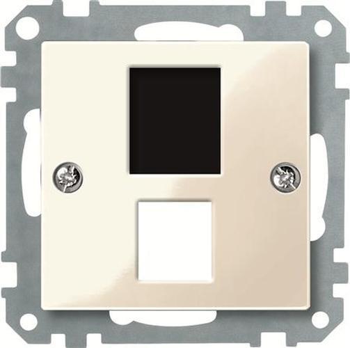 Merten 290144 Zentralplatte Kat.3 AMP Weiß-Glänzend
