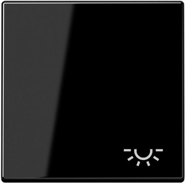 """JUNG A590LSW Wippe mit Symbol """"Licht"""" Schwarz"""