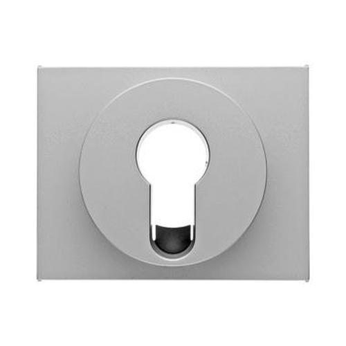 Berker 15057003 Zentralstück für Schlüsselschalter/-taster K.5 Alu