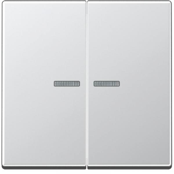 JUNG A595KO5AL Kontroll-Serien-Wippe Aluminium