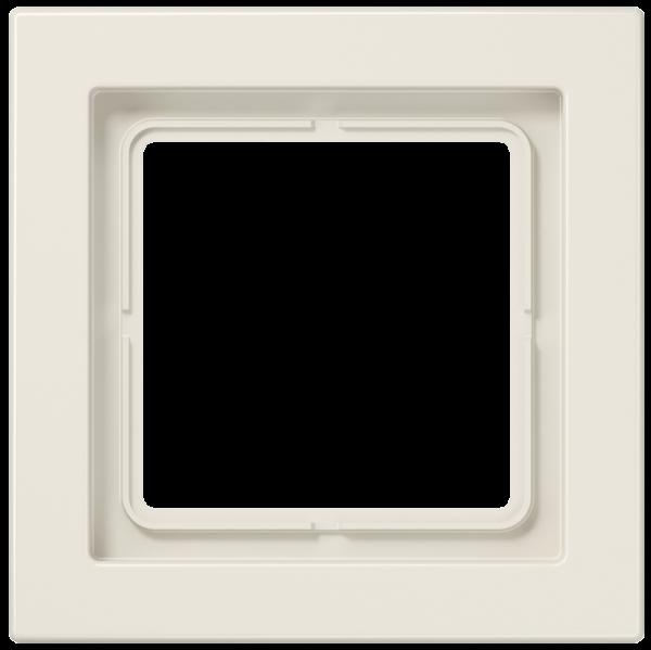 JUNG LSD981W Rahmen 1-Fach LS-Serie Cremeweiß