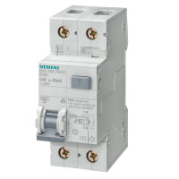 Siemens 5SU1356-6KK10 FI/LS-Schalter B10A 1+N-Polig 0,03A
