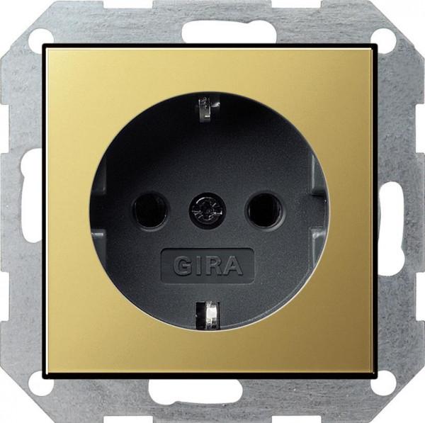 Gira 046627 Schuko Steckdose ohne Kralle System 55 reinwei/ß matt