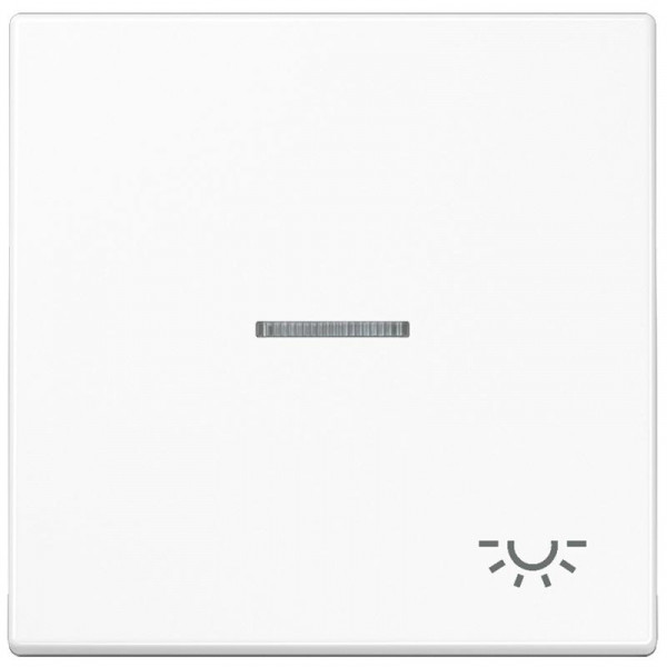 "JUNG LS990KO5LWW Kontroll-Wippe mit Symbol ""Licht"" Alpinweiß"