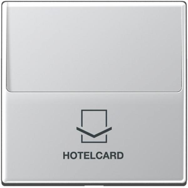 JUNG A590CARDAL Hotelcard-Schalter Aluminium