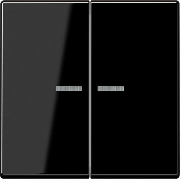 JUNG A595KO5SW Kontroll-Serien-Wippe Schwarz