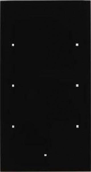 Berker 169305 Glas-Sensor 3Fach TS Sensor Glas, Schwarz