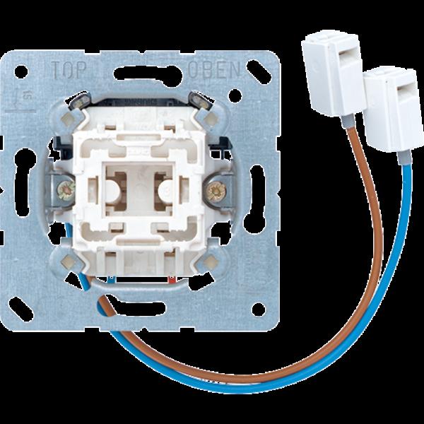 JUNG 533U-LEDW Taster-Einsatz LED