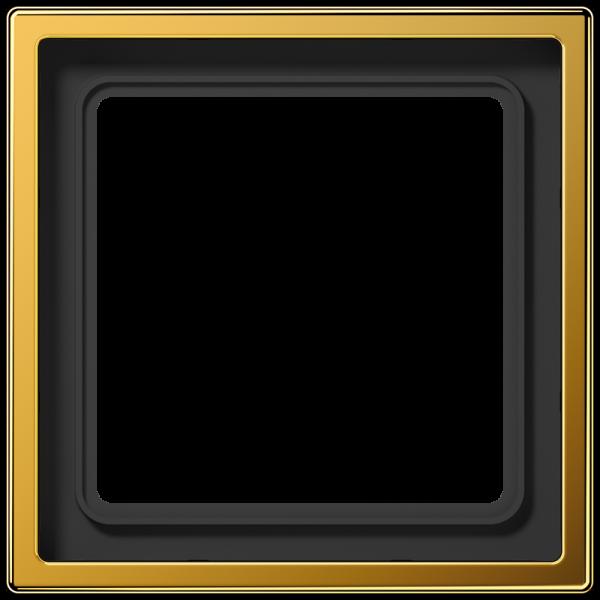 JUNG LS981GGO Rahmen 1-Fach LS-Serie Vergoldet