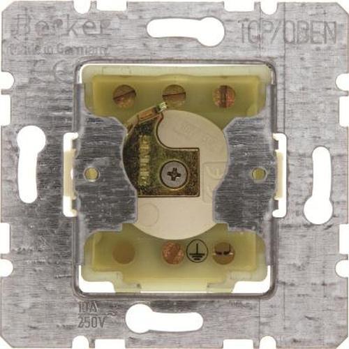 Berker 382120 Jalousie-Schlüsselschalter Einsätz für Profil-Halbzylinder wg Up IP44