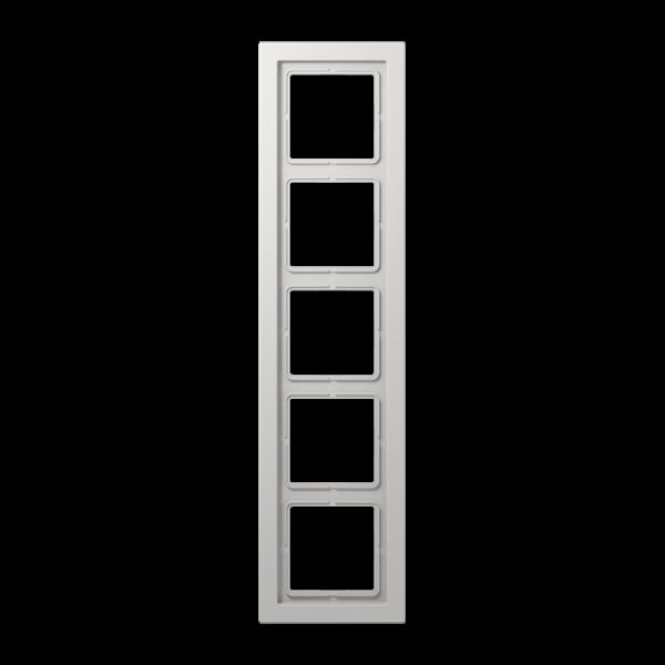 JUNG LSD985LG Rahmen 5-Fach LS-Serie Lichtgrau