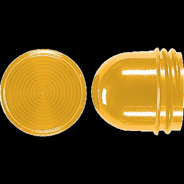 JUNG 37.07 Schraubhaube 35mm Gelb