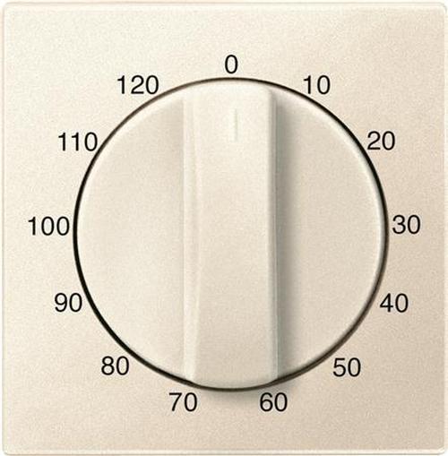 """Merten 539244 Abdeckung Zeitschaltuhr """"120 Min"""" Weiß"""